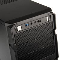 ▷ Cooler Master RC-K350-KWN2 - Nero con Finestra, Cooler